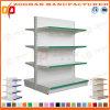 Doppia scaffalatura parteggiata d'acciaio del supermercato personalizzata vendita (Zhs506)