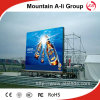 La publicité du panneau-réclame polychrome d'écran de l'Afficheur LED P6