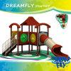 Diapositiva de los niños del patio de la escuela de la diversión de la protección del medio ambiente de la innovación