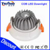 Plafond en aluminium de coulage sous pression 10W LED Downlight d'ÉPI