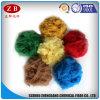 Gerecycleerde Voornaamste Vezel 15D*76mm van de Polyester Grondstoffen voor Niet-geweven Tapijten