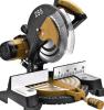 Gli strumenti per il taglio di metalli ad ingranaggi 255mm elettrici che fanno scorrere il mitra hanno veduto