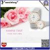 Relógio do amante de quartzo de Japão do relógio de pulso do amante dos pares Yxl-640 com cinta do engranzamento