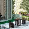 Мебель сада PE-Ротанга напольного патио верхнего качества Wicker обедая комплект Стулом и таблицей 2 слоев бортовой (YT591) используя для комплекта балкона