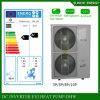 Sala 12kw/19kw/35kw del tester del riscaldamento di pavimento di inverno di tecnologia -25c di Evi 100~350sq più salvo la pompa termica spaccata elettrica del riscaldatore di acqua del bagno