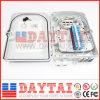 Doos van de Beëindiging van 24 Kern van de Vezel FTTH de Optische met Adapter & PLC Splitser