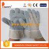 Kuh-aufgeteiltes Leder ohne zeichnendes Doppelt-ledernen Handschuh (DLC110)