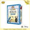 カスタム板紙表紙の狩猟鳥の教育トランプゲーム