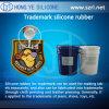 Het Rubber van het Silicone van het Handelsmerk van Tranparent voor Etiket