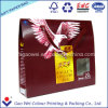 Colorer le logo d'impression de sac de papier d'achats pour le cadeau de thé
