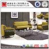 Nuovo sofà del cuoio genuino di disegno con i piedini del metallo (NS-S307)