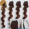 Estensione pre tenuta da adesivo allentata dei capelli dell'onda di colore 30#