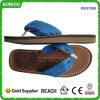 Santal de poussoir de femmes de confort de semelle intérieure d'unité centrale de courroie de coton de denim (RW27990)