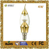 CE&RoHS를 가진 4W LED Decoration Candle Bulb Light
