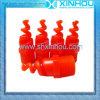 플라스틱 120 도 공기 냉각 탈황 나선형 제트기 분사구