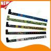 Bandes polychromes en plastique de bracelet de bracelets d'identification d'impression de divertissement (E8070-46)