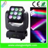 9X10W RGBW Matrix LED Moving Head Beam와 Wash Light