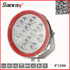 12V 24V High Power 120W Round Cars High Intensity LED Light