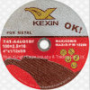4  Metal를 위한 거친 Resin Bonded Double Net Cutting Discs