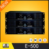 Potencia Amplifier Professional Power Amplifier 500W X2 (E-500)