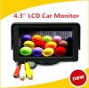 C.C Monitor/4.3 de Screen de 16:9 de Car Rearview Inch de TFT LCD de la couleur 4.3 12V Car Monitor pour le magnétoscope de DVD Camera
