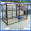 6つのFTの黒色火薬塗られた溶接されたワイヤーモジュラー犬の犬小屋のパネル
