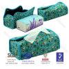 Коробка держателя тканей изготовления модная навальная бумажная