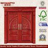 標準的な別荘の入口の純木のドア(XS1-006)
