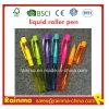 De plastic Vloeibare Pen van de Rol met de Kleur van het Af:drukken van Nice