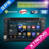 6.2  lecteur DVD Multi-Touch de Screen Android 4.4.4 Double DIN Car avec Wireless Mobile Mirror Function et OBD2