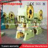 O tipo o mais novo máquina de perfuração de aço do furo de J21s 160t