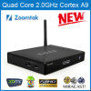 M8 Amlogic S802 Android 4.4 Quad Core Fernsehapparat Box Fully Loaded Xbmc Fügen-Ons 4k 2.4GHz WiFi hinzu