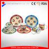Tazza della porcellana di disegno della decalcomania 11oz/tazza caffè della porcellana con il piatto di servire