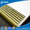 Arrotondare la punta d'ottone antiscorrimento della scala di colore dorato di alta qualità (MSSNB-8)