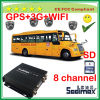 8CH Low Price Import Items Student Bus 3G Mobile DVR with Parents Account Monitoring