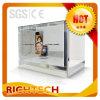 video vetrina trasparente 22 per la pubblicità, stanza di esposizione, mostra