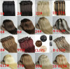Hair Extension One Clip Different Colors Available에 섬유 Clip