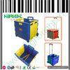 PlastikFoldable Einkaufswagen mit Lids