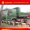 주문을 받아서 만들어진 Sinotruk HOWO 4X2 덤프 트럭 12t 220HP는 완전히 일 수 있다