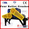 China-Gruben-Zerkleinerungsmaschine für die harten Steine, die durch die vier Rollenzerkleinerungsmaschine 4pg0812pty zerquetschen