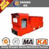 Locomotora eléctrica minera de la carretilla para el subterráneo