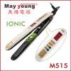 230/450 de Straightener liso do cabelo do ferro da queratina de Degress MCH (M515)