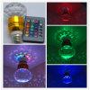 Bulbo de cristal do estágio do diodo emissor de luz do RGB 3W (LPCB-0005W) E27 GU10