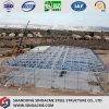 Gruppo di lavoro prefabbricato della struttura d'acciaio con la colonna di resistenza del vento