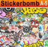 1.52*30 vinile Stickers per Cars Bomb Sticker
