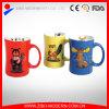 Taza grabada en color 2-Tone con los diseños animales