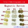 мешок кнопки Dia 18mm/14mm магнитный одевает кнопку портмона