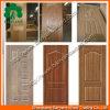 Qualité en bois bon marché de peau de trappe du placage HDF/MDF