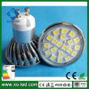 15mA 300lm Die-Casting LED Bulb Light 20s5050 3.5W MR16/E27/E14/GU10
