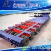 8 Semi Aanhangwagen van het Bed van assen de Lage 200 Ton